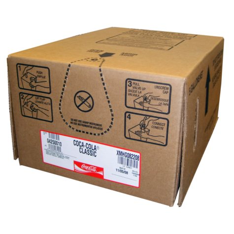 Coca-Cola Bag-In-Box Fountain Syrup (5 gal.)