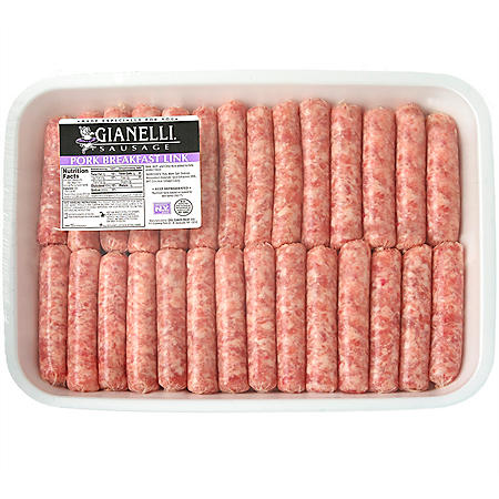 Gianelli Pork Breakfast Sausage Links (priced per pound)
