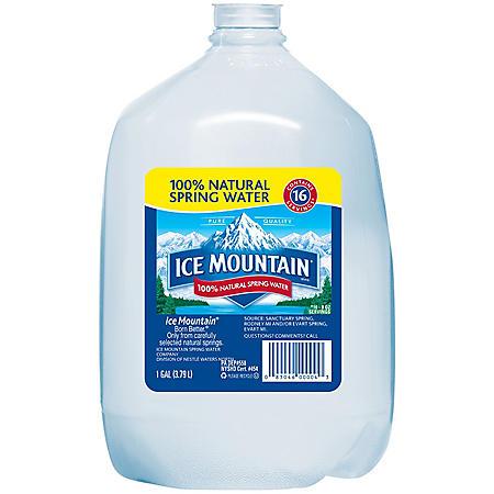 Ice Mountain 100% Natural Spring Water (1 gal. jug, 6 pk.)