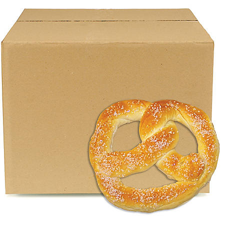 Sweet Dough Parbaked Cafe Frozen Pretzels, Bulk Wholesale Case (60 ct.)