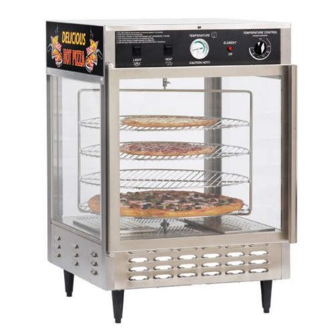 Gold Medal® 5550PZ Humidified Pizza Warmer