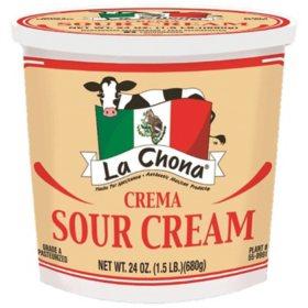 La Chona Sour Cream (24 oz.)