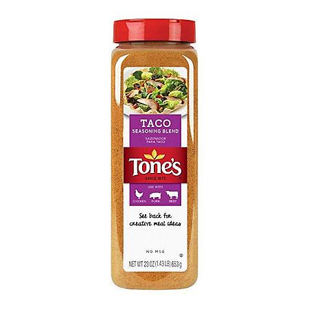 Tone's Taco Seasoning (23 oz.)