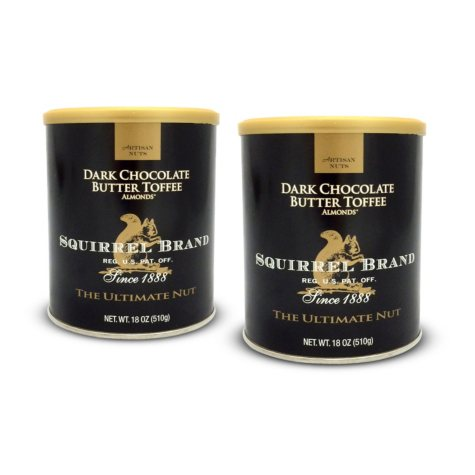 Dark Chocolate Butter Toffee Almond - 2pk - 18oz cans