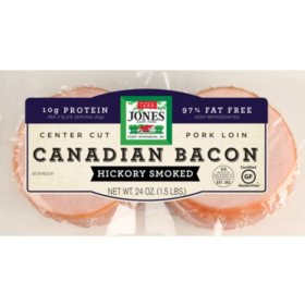 Jones Dairy Farm Canadian Bacon (1.5 lbs.)