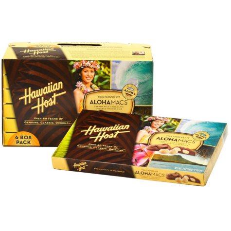 Hawaiian Host Milk Chocolate AlohaMacs (6 oz., 6 ct.)