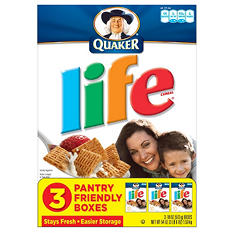 Life Cereal Triple Pack - 18 oz. boxes - 3 ct.