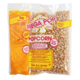 Gold Medal Mega Pop Popcorn Kit (12 oz. kit, 24 ct.)