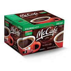 McCafe Premium Roast Decaf Coffee (84 K-Cups)