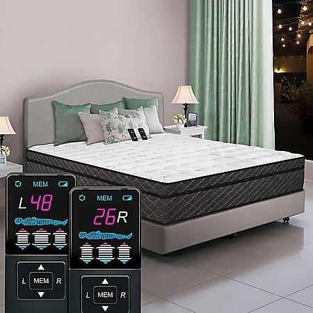 Dual Digital Reflections Pillowtop Air Bed, Queen
