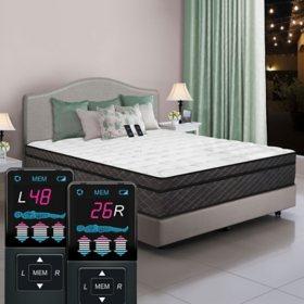 Dual Digital Reflections Pillowtop Air Bed, King