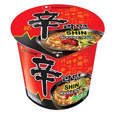 Nongshim Shin Noodle Soup (2.64 oz. ea., 12 ct.)
