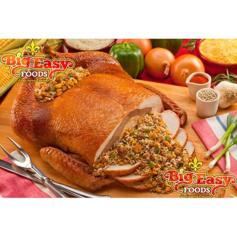 Big Easy Foods Cornbread Tur-Duc-Hen (15 lb.)