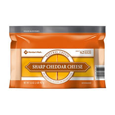 Members Mark Sliced Sharp Cheddar Cheese (2 lbs.)