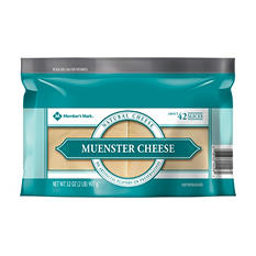 Member's Mark Sliced Muenster Cheese (2 lbs.)