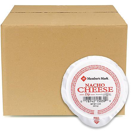 Member's Mark Nacho Cheese Dip Single Servings, Bulk Wholesale Case (108 ct.)