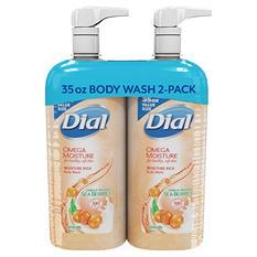 Dial Moisture Rich Body Wash (35 fl. oz., 2 pk.)
