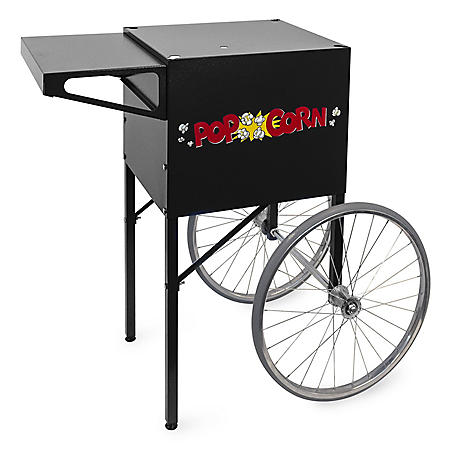 Gold Medal® 2669BK Products Textured Cart - Black