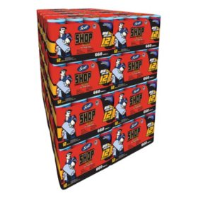 Scott Shop Towel Pallet (32 Packs, 384 Rolls, 21,120 Sheets)