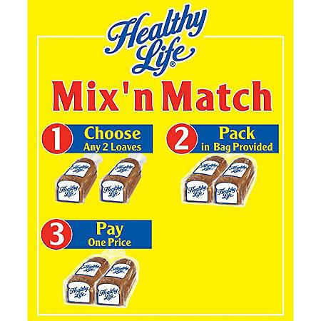 Bunny Mix n Match Bread