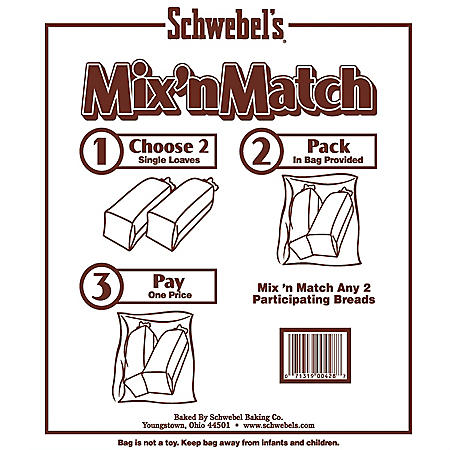 Schwebel Mix n Match Bread