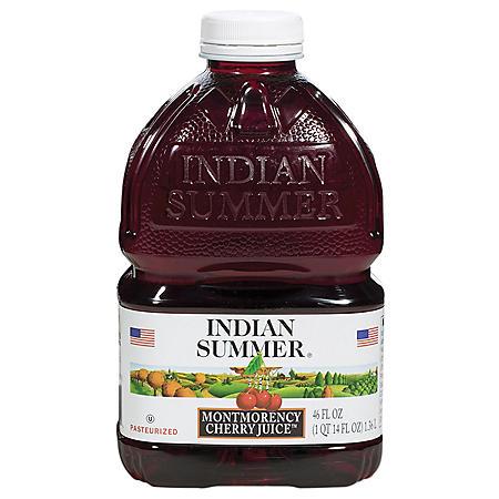 Indian Summer Montmorency Cherry Juice (46oz / 8pk)