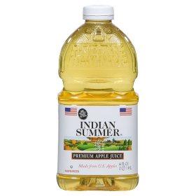 Indian Summer Premium Apple Juice (64 fl. oz., 8 ct.)
