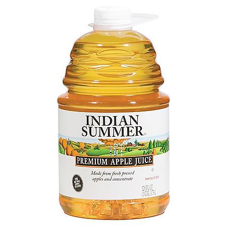 Indian Summer Premium Apple Juice (128oz / 4pk)