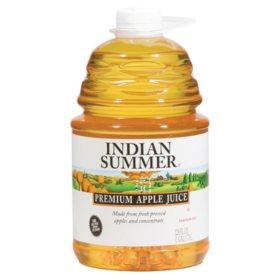 Indian Summer Premium Apple Juice (128 fl. oz., 4 ct.)