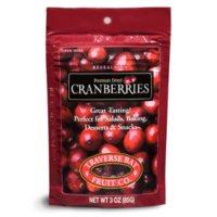 Traverse Bay Fruit Co. Premium Dried Cranberries (3 oz., 12 ct.)