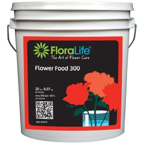 Floralife Flower Food Powder - 20 lbs. - 1 Pail