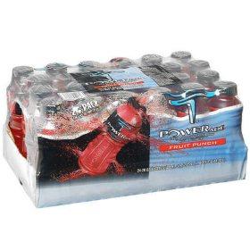 Powerade Fruit Punch Sports Drink (20 oz. bottles, 24 ct.)