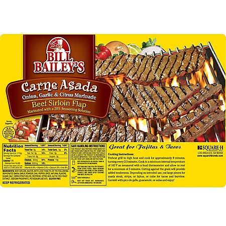 Bill Bailey's Carne Asada (priced per pound)