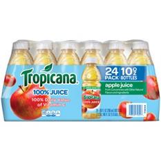 Tropicana Apple Juice, 24/10 Oz.
