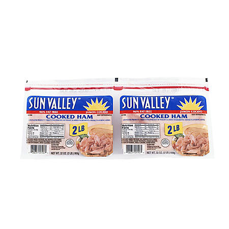 Sun Valley Cooked Ham (2 pk., 2 lbs. each)