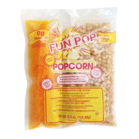 Gold Medal Fun-pop Popcorn Kit (4 oz. bag, 36 pk.)