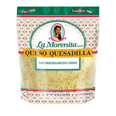 La Morenita Shredded Quesadilla Cheese (2 lbs.)