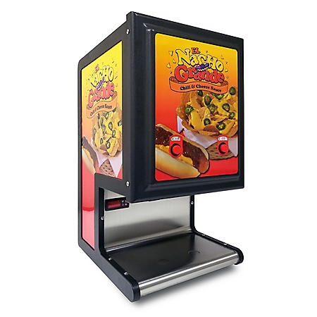 Gold Medal El Nacho Grande Dual Cheese and Chili Dispenser