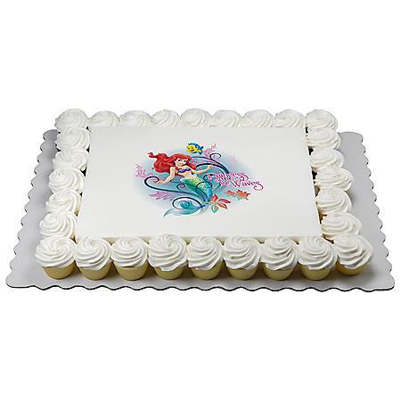 Disney Princess Half Sheet and Cupcake Combo