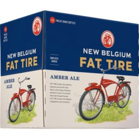 New Belgium Fat Tire Amber Ale (12 fl. oz. bottle, 12 pk.)