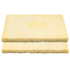 Quarter Sheet Presoaked Tres Leches Layers, Bulk Wholesale Case (8 ct.)