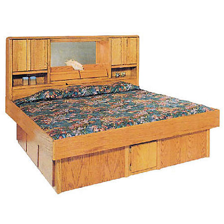 """ASC 14"""" Oak King or Queen Underbed Drawers"""
