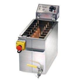 Gold Medal® 8068FL Foot Long Corndog Fryer - 60 lbs.