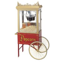Gold Medal's Antique (12/14 oz) Whiz Bang Popper and Matching Cart
