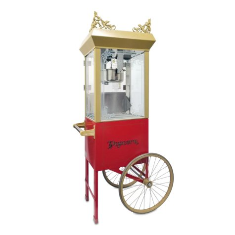 Gold Medal 2660GTSC Antique Deluxe Popper with Red Cart