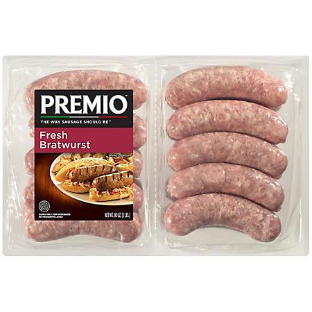 Premio Fresh Bratwurst Links (5 lbs.)