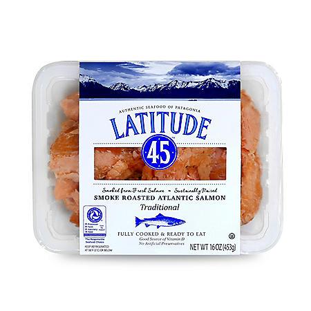 Latitude 45 Smoke Roasted Atlantic Salmon (16 oz.)