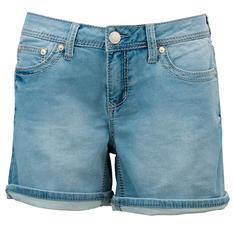 Women's Knit Denim Short
