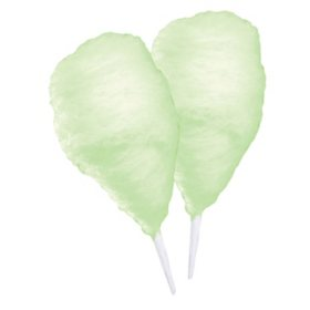 Gold Medal Cherry Lime Cotton Candy Sugar Floss (1.5 gal. ea., 6 ct.)