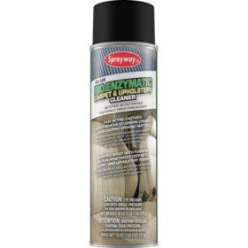 Sprayway BioEnzymatic Carpet and Upholstery Cleaner (18oz.,3pk.)